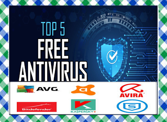 Top 5 Best FREE ANTIVIRUS Software 2020