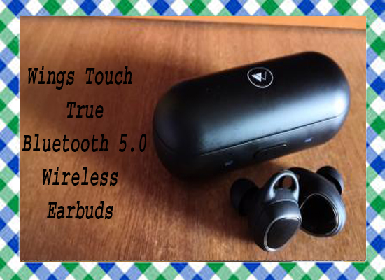 Wings Touch True Bluetooth 5.0 Wireless Earbuds