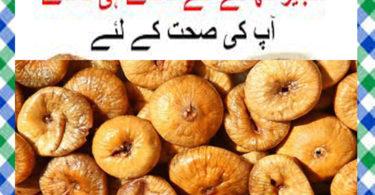 Anjeer Khane Ke Fayde in Urdu