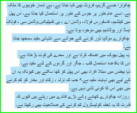 Chakotra Ky Anmol Faidy