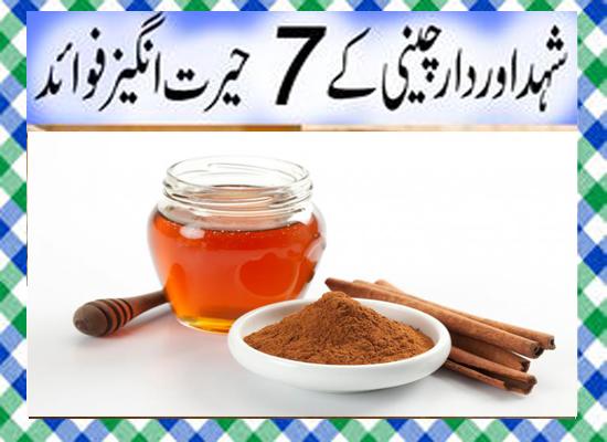 Dalchini aur Shahad Khane Ke Fayde in Urdu