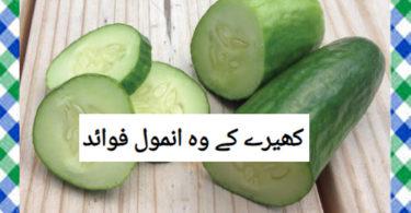 Kheere Khane Ke Fawaid in Urdu