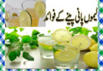 Lemon Water Peene Ke Fayde in Urdu