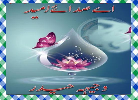 Aey sadaey umeed Complete Urdu Novel by Wajhia Haider
