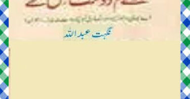 Huay Tum Dost Jis Kay Urdu Novel by Nighat Abdullah