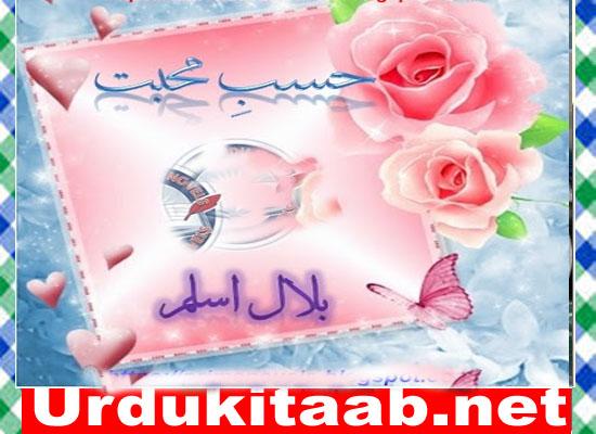 Hasbe Mohabbat Urdu Novel By Bilal Aslam Download