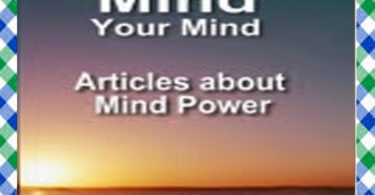 Mind Your Mind English Book Download