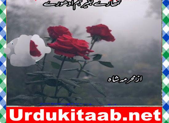 Tumhary Bagher Hum Adhoory Urdu Novel By Mehrmah Shah Download