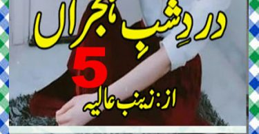Dard E Shab E Hijran Urdu Novel By Zainab Aliya Episode 5 Download