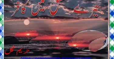 Tere Ishq Mein Kafir Urdu Novel By Hareem Gul Download