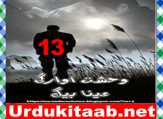Wehshat E Awargi Urdu Novel By Ayna Baig Episode 13 Download