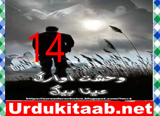 Wehshat E Awargi Urdu Novel By Ayna Baig Episode 14 Download