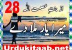Mera Yaar Mila Dy Urdu Novel By Bint E Asmat Ullah Episode 28 Download