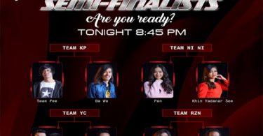 The Voice Myanmar Season 3 Semi-Final Live Show
