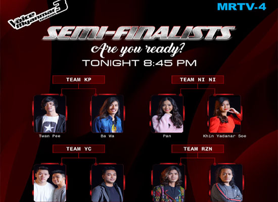 The Voice Myanmar Season 3 Semi-Final Live Show
