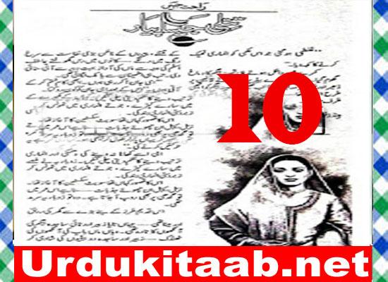Titli Jaisa Pyar Urdu Novel By Rahat Jabeen Episode 10 Download
