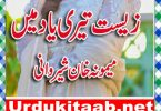 Zist Teri Yaad Main Urdu Novel By Memoona Khan Sherwani a