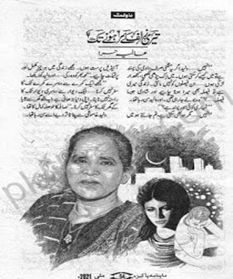Teri Zulf Ke Sar Honay Tak Urdu Novel By Aliya Hira