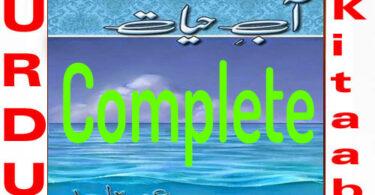 Aab e Hayat By Umera Ahmed Complete Urdu Nove