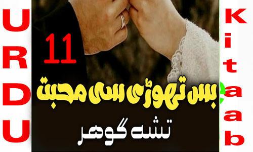 Bus Thori Si Mohabbat Novel By Tisha Gohar Episode 11