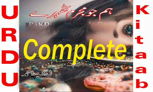 Hum Jo Mujrim Tehre Complete Novel By Zainab Ahmed