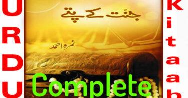 Jannat Kay Pattay By Nimra Ahmed Complete Novel