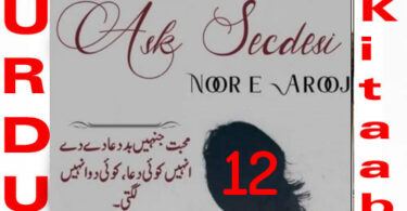 Ask Secdesi By Noor E Arooj Urdu Novel Episode 12
