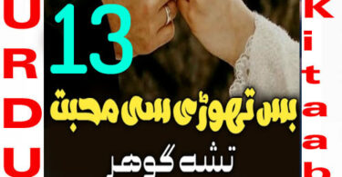 Bus Thori Si Mohabbat Urdu Novel By Tisha Gohar Episode 13
