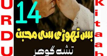Bus Thori Si Mohabbat Urdu Novel By Tisha Gohar Episode 14